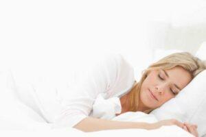 santa barbara sedation dentist patient sleeping on pillow